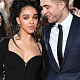 Robert Pattinson and FKA Twigs at The Lost City of Z London