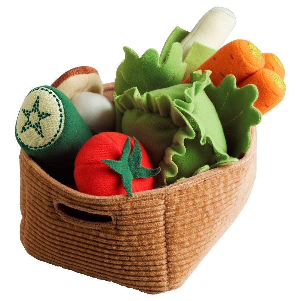 Duktig Felt Vegetables Set