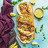 Vegan: Roasted Cauliflower Tacos With Avocado Cream