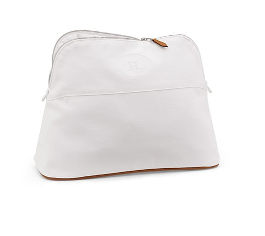 Hermès White Toiletry Case ($370)