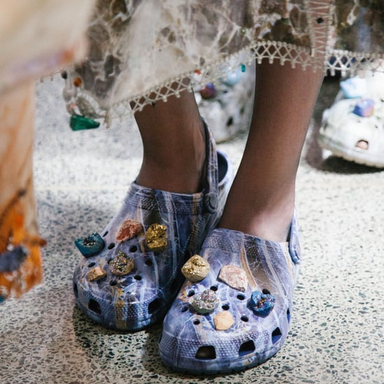Christopher Kane Shows Crocs on the Runway