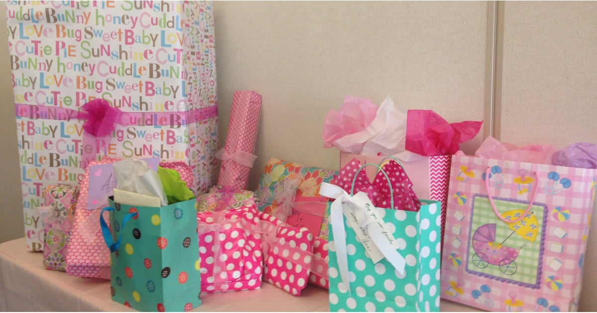 how much should you spend on a baby shower gift?  popsugar moms, Baby shower invitation