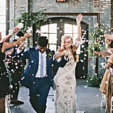 Boho-Chic Factory Wedding