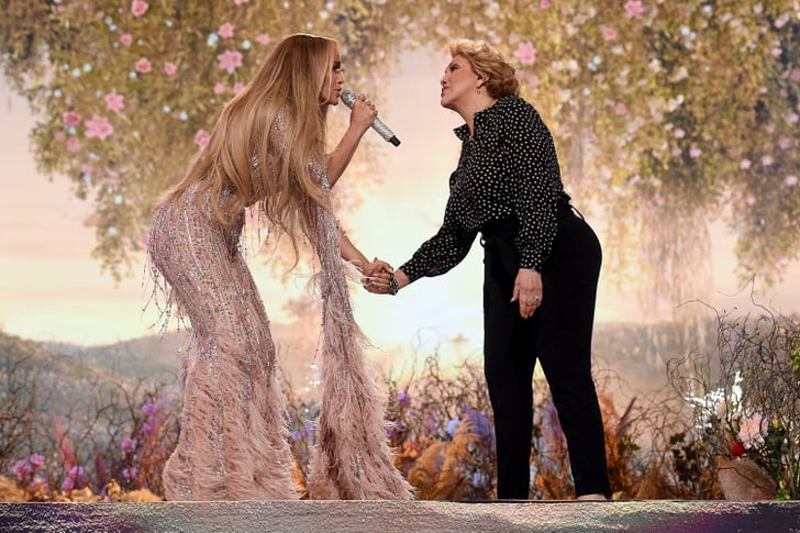 "Watch Jennifer Lopez and Her Mom Sing ""Sweet Caroline"""