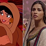 Naomi Scott as Princess Jasmine again (only she's undercover this time)