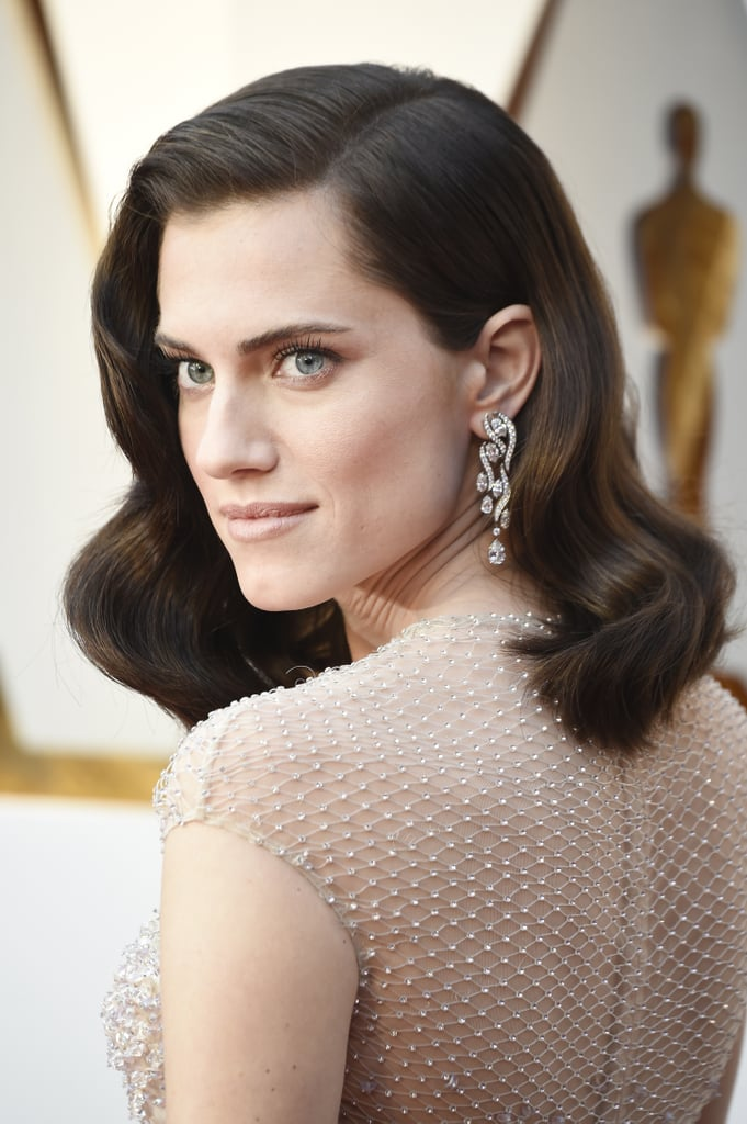 Allison Williams Oscars Jewelry And Accessories 2018 Popsugar