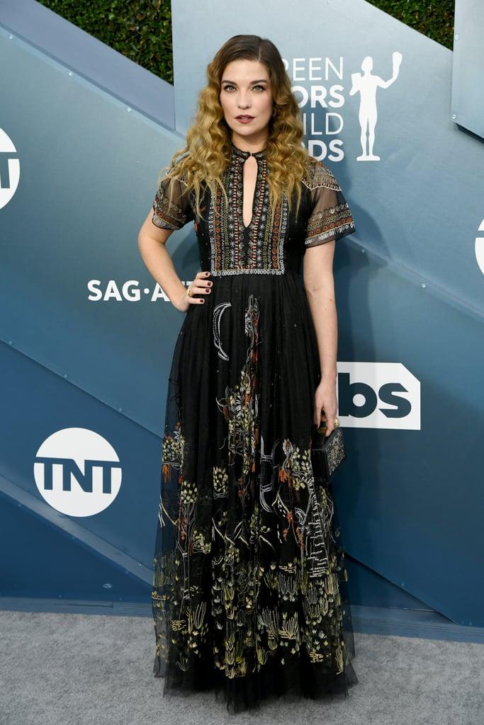 Annie Murphy at the 2020 SAG Awards
