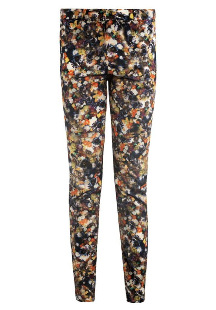 Erdem Esmeralda Narcisse flower-print trousers ($796)