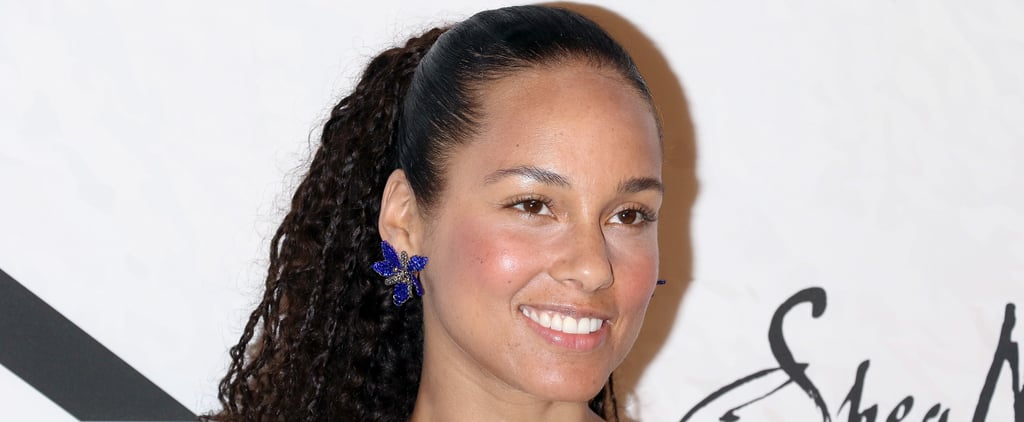 Alicia Keys's Haircut July 2018