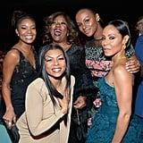 Pictured: Jada Pinkett Smith, Taraji P. Henson, Gabrielle Union, Tika Sumpter, and Loretta Devine