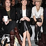 Fun-Loving Stars Grace the Final Front Rows of London Fashion Week