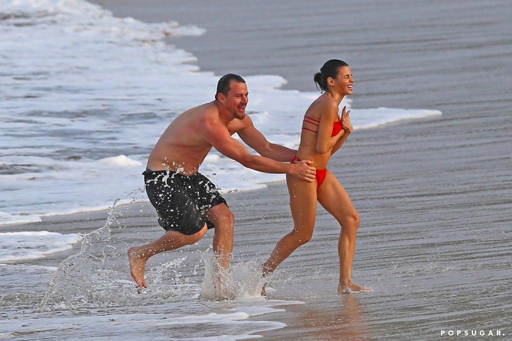 Channing Tatum and Jenna Dewan in Hawaii February 2017