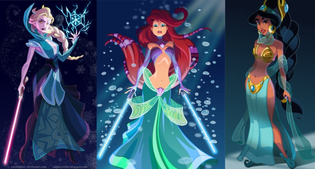 If Disney Princesses Were Star Wars Characters, This Is How Awesome They'd Look