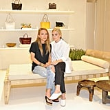 Mary-Kate and Ashley both went for denim looks when they invited The Coveteur into their new Elizabeth and James store at The Grove in LA.