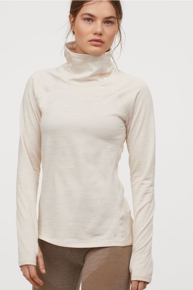 H&M Polo-Neck Running Top
