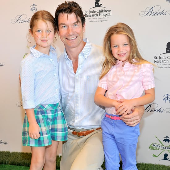 Jerry O'Connell and Rebecca Romijn's Twin Daughters in LA