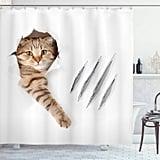 Playful Cat Shower Curtain