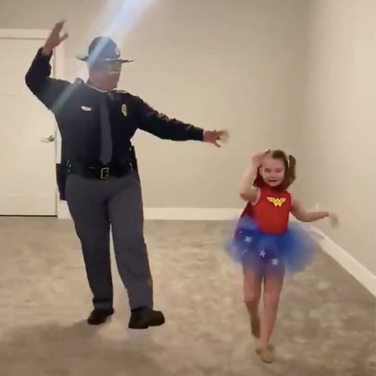 Dad Dances With Daughter When Recital Is Postponed | Video