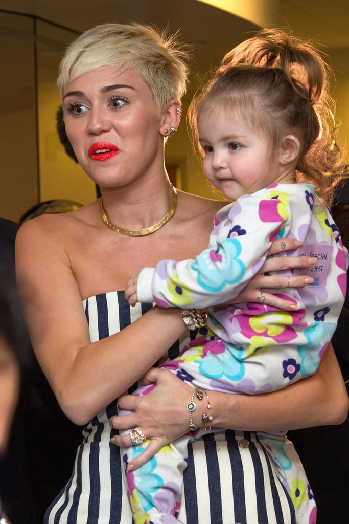 ab3349b5fe88 Miley Cyrus Gives Happy Interview on Ryan Seacrest Radio