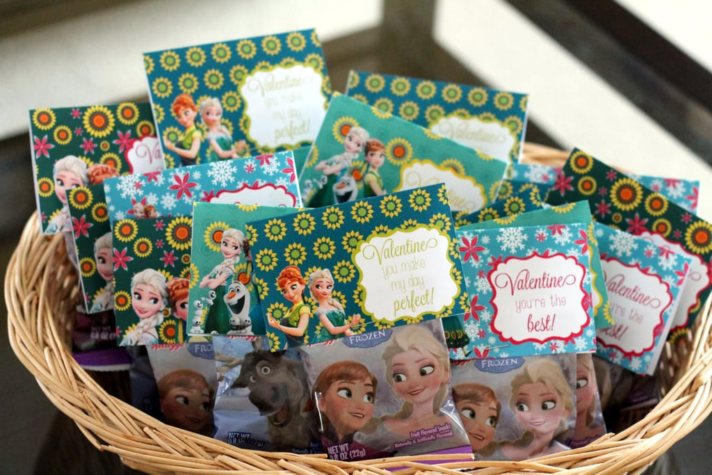 Disney Frozen Fever Valentine's Day Bag Toppers