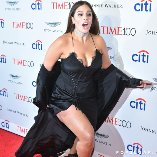 Ashley Graham Tripping at the Time 100 Gala 2017