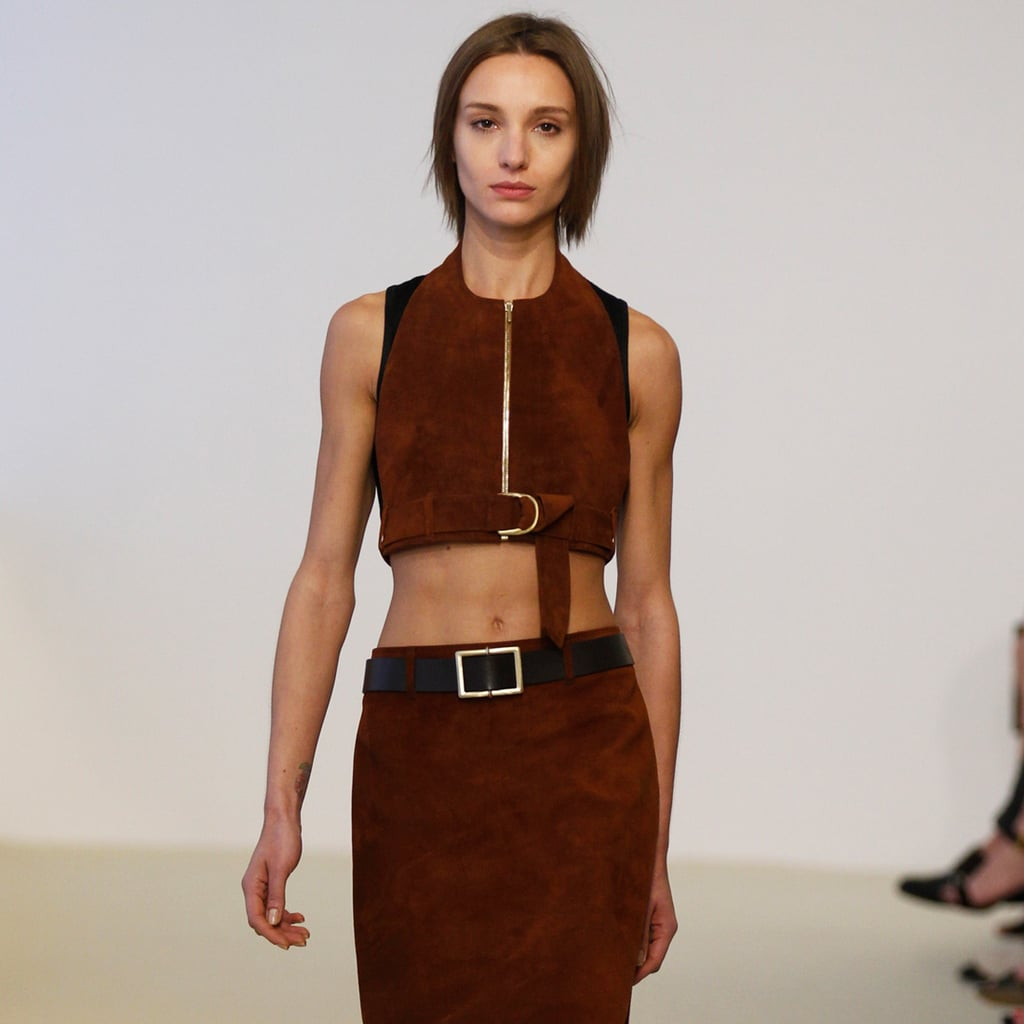 Calvin Klein Collection Resort 2014: Midriff-Baring For the Sophisticate