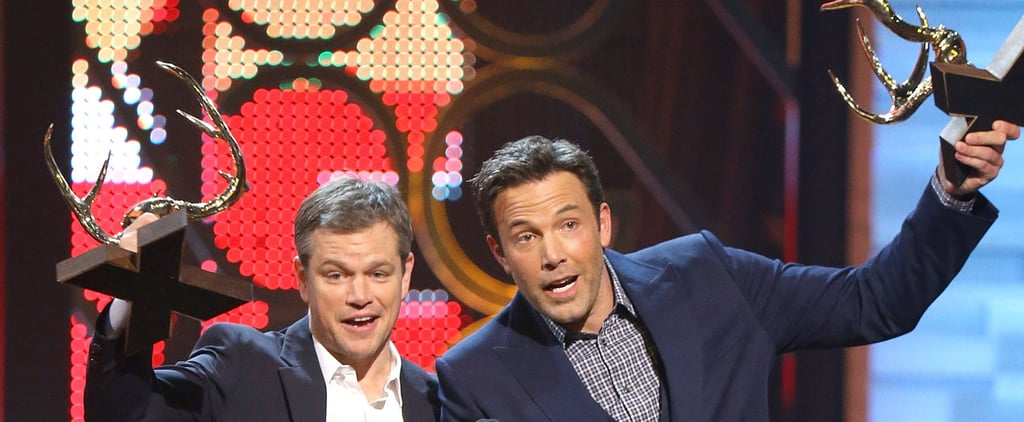"Ben Affleck and Matt Damon Joke About Pals Brad Pitt and George Clooney: ""F*ck Those Guys"""
