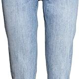 H&M Lightwash Mom Jeans ($30)