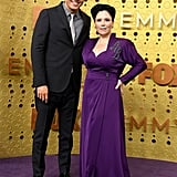 Seth MacFarlane and Alex Borstein at the 2019 Emmys