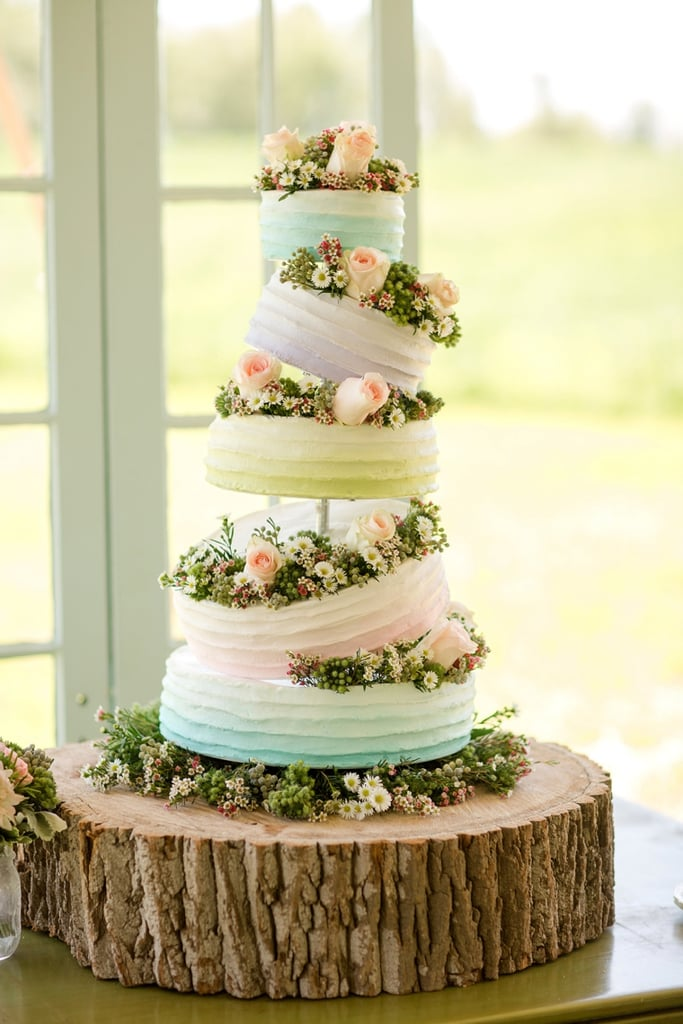 sleeping beauty wedding cake