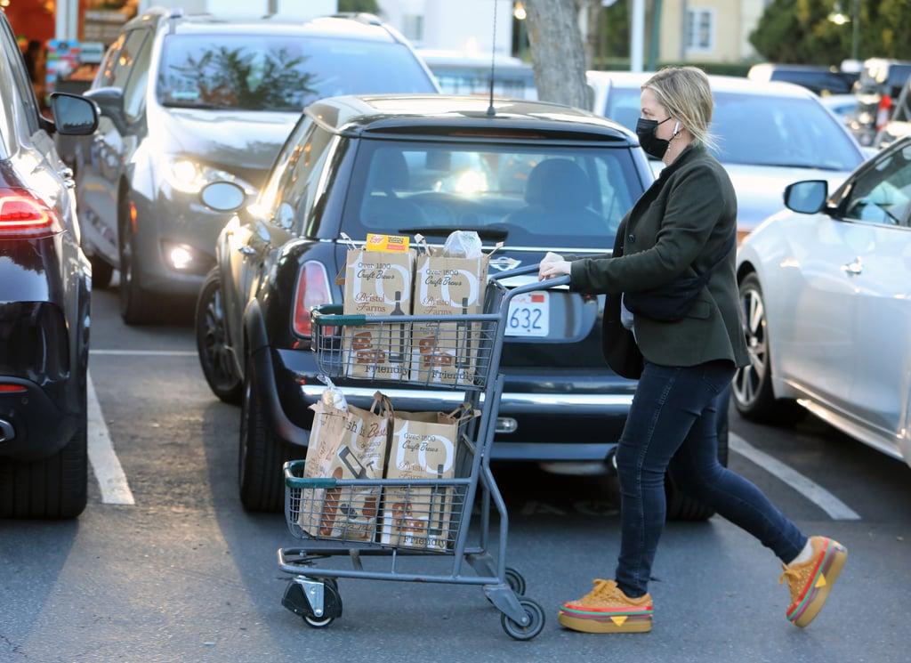 Amy Poehler Wears Dolls Kill Cheeseburger Sneakers