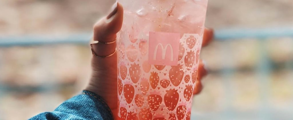 McDonald's Japan Strawberry McFloat