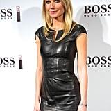 Gwyneth Paltrow launched Hugo Boss's fragrance.
