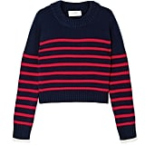 La Ligne Mini Marin Striped Wool and Cashmere-Blend Sweater