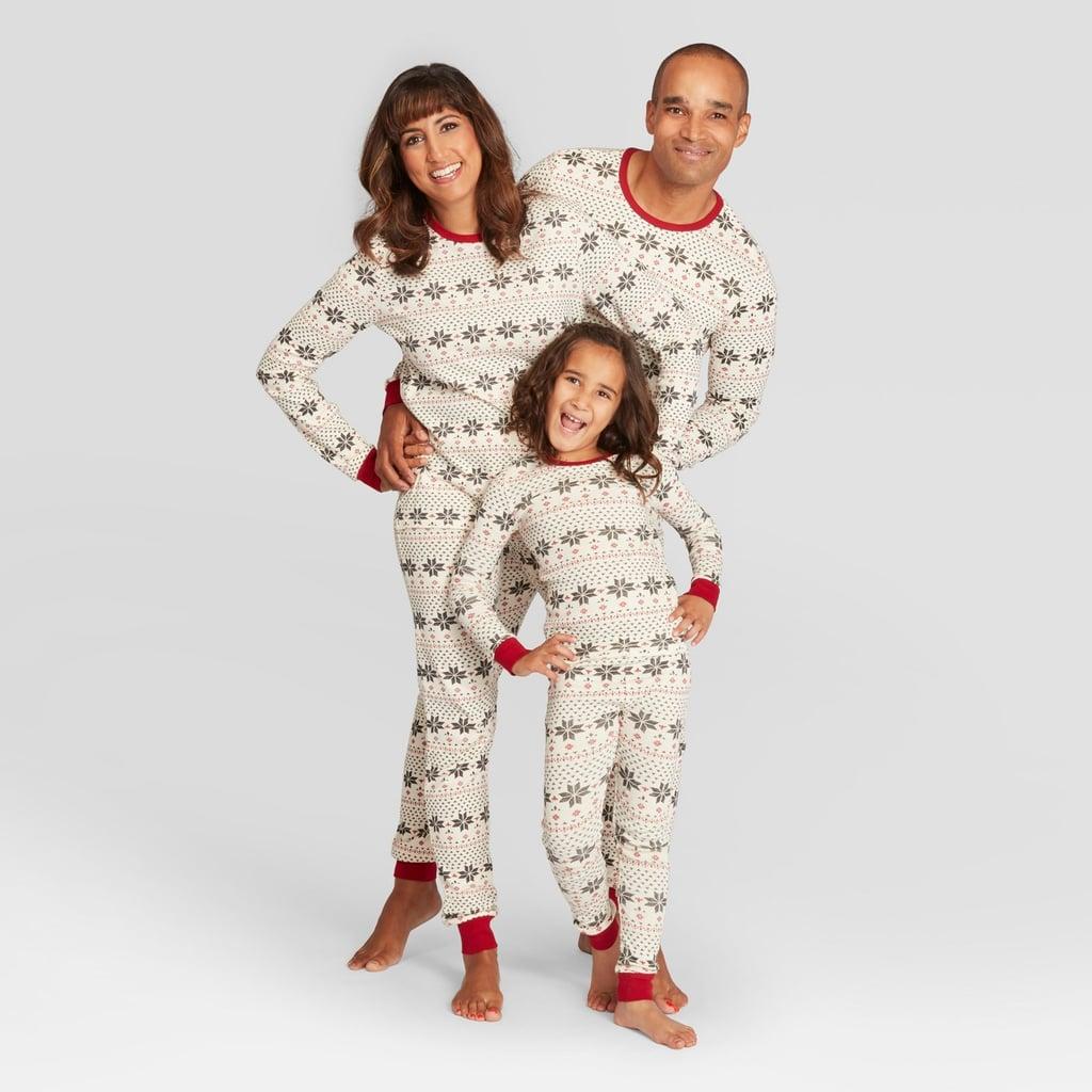 46c0d1be23b0 Burt s Bees Snowflake Pajama Set