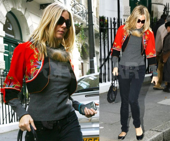 Photos of Newly Single Sienna Miller in London