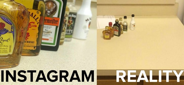 Your Life on Instagram vs. Real Life