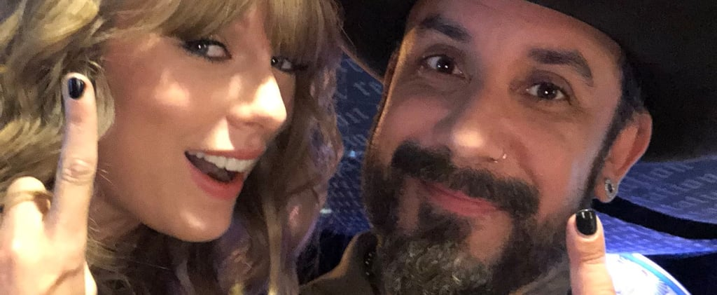 Backstreet Boys' AJ McLean at Taylor Swift Concert 2018