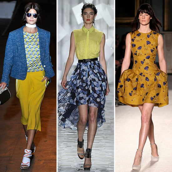 Spring 2012 Cool Colour Combo: Blue + Yellow
