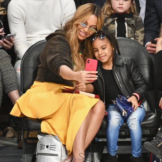 Beyoncé and Blue Ivy Instagram Photos January 2019