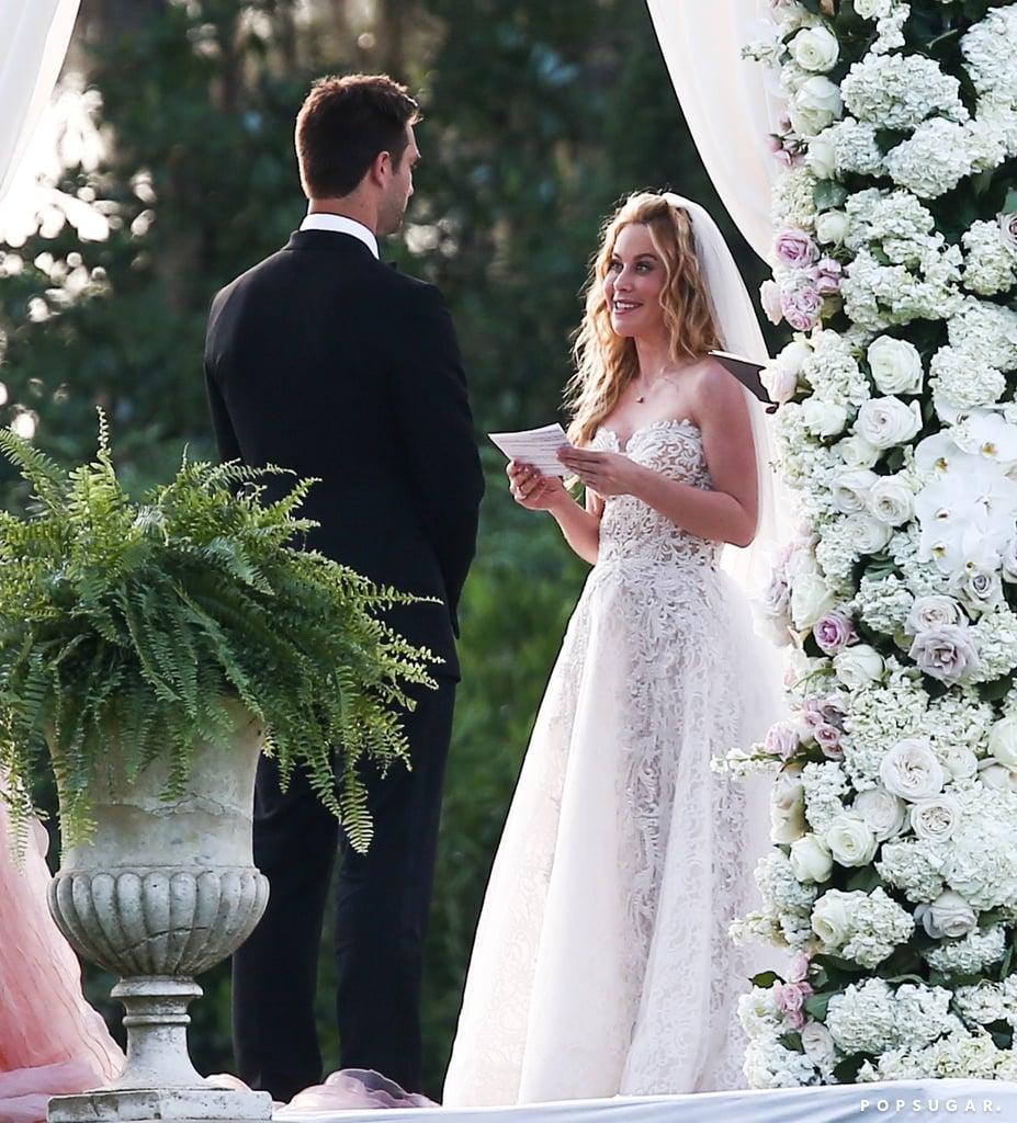 Weddings Pictures Gallery: Tara Lipinski Wedding Pictures