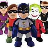 DC Comics Batman, Robin, Joker, Batgirl, and Catwoman 10-in. Plush Figures by Bleacher Creatures