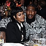 Teyana Taylor and Iman Shumpert at the Elton John AIDS Foundation Oscars Party