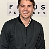 Emile Hirsche was among the stars to attend the event.