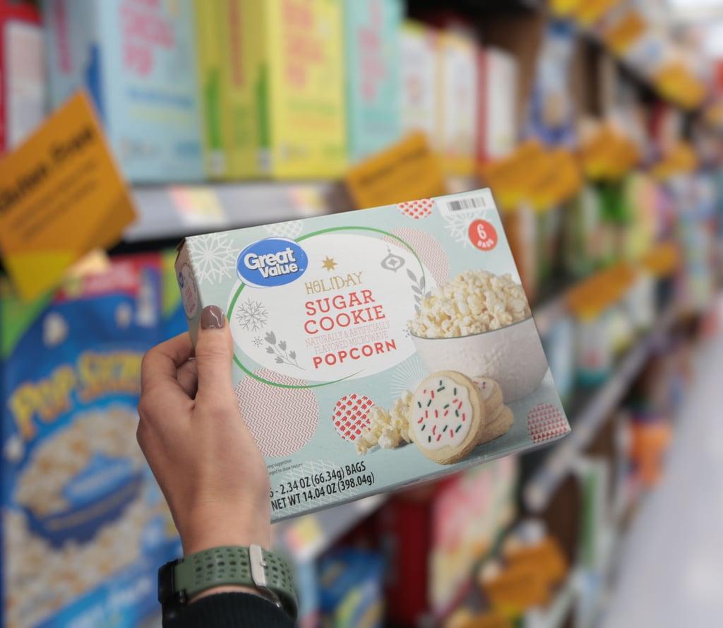Sugar-Cookie-Flavored Popcorn at Walmart