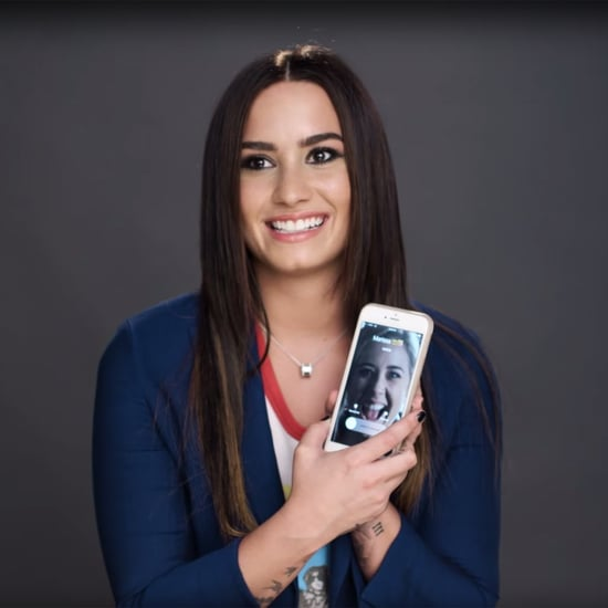 Demi Lovato iPhone Tour For Glamour | Video