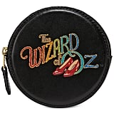 Coach Leather Wizard of Oz Round Coin Case