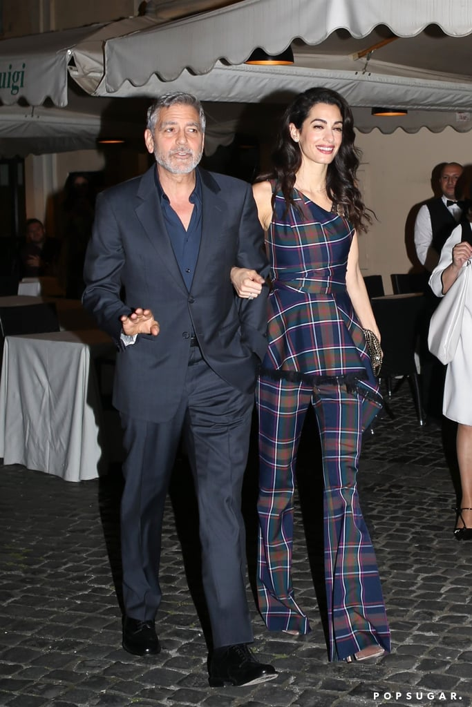 George and Amal Clooney Out in Italy May 2019