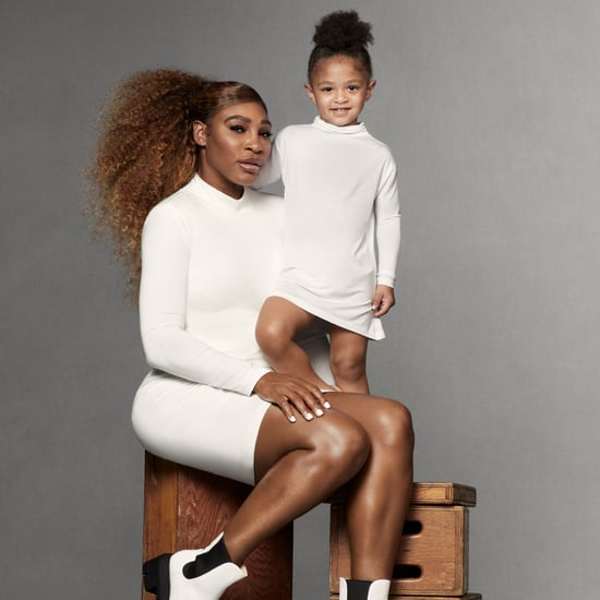 Serena Williams and Olympia Ohanian Stuart Weitzman Campaign