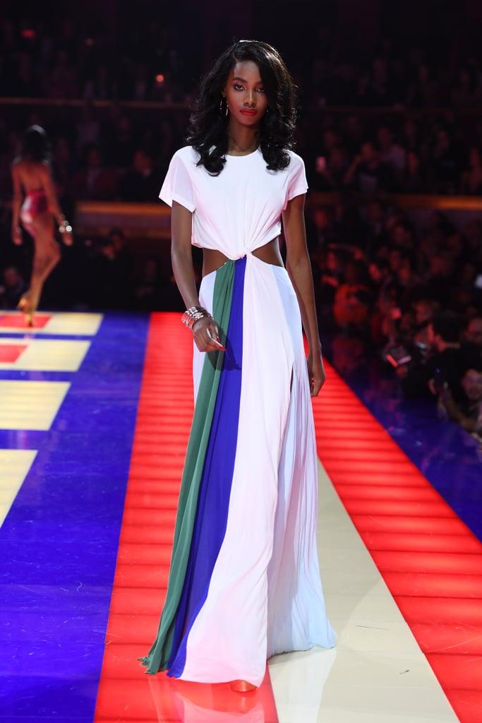 Tommy X Zendaya Paris Fashion Week Show 2019 Popsugar Fashion